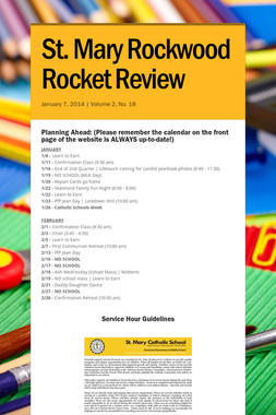 St. Mary Rockwood Rocket Review