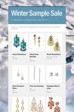 Winter Sample Sale