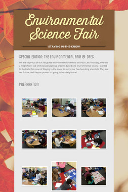 Environmental Science Fair