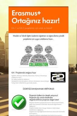 Erasmus+ Ortağınız hazır!