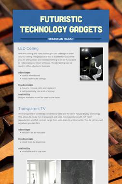 FUTURISTIC Technology Gadgets