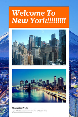 Welcome To New York!!!!!!!!!
