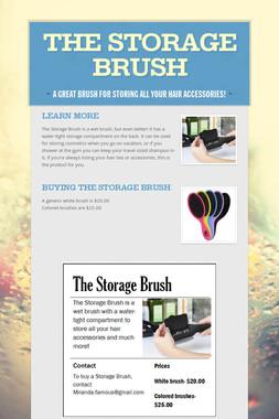 The Storage Brush