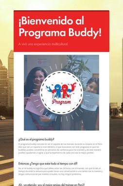 ¡Bienvenido al Programa Buddy!