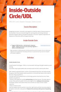 Inside-Outside Circle/UDL