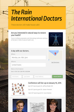 The Rain International Doctors