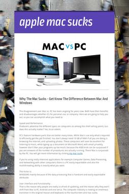 apple mac sucks