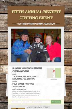 Fifth Annual Benefit Cutting Event