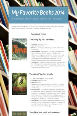 My Favorite Books 2014