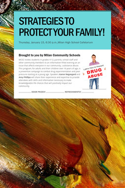STRATEGIES TO PROTECT YOUR FAMILY!