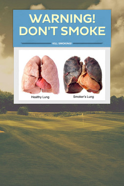 Warning! Don't smoke