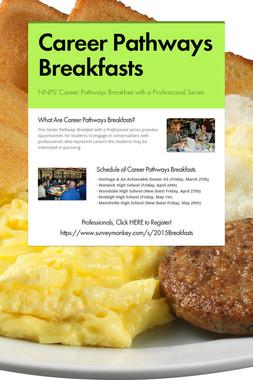 Career Pathways Breakfasts
