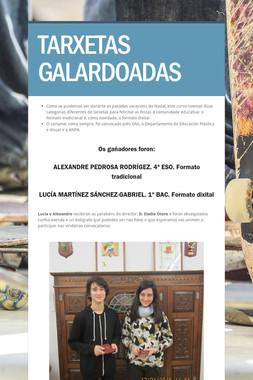 TARXETAS GALARDOADAS