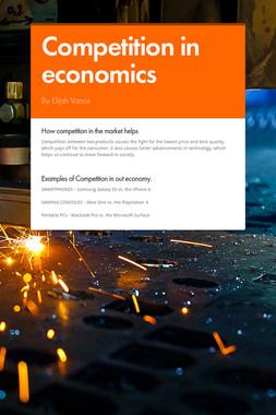 Competition in economics