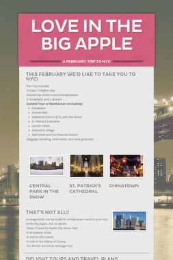 Love in the Big Apple