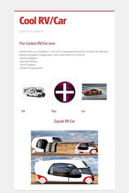 Cool RV/Car