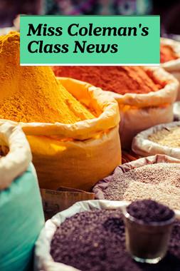 Miss Coleman's Class News