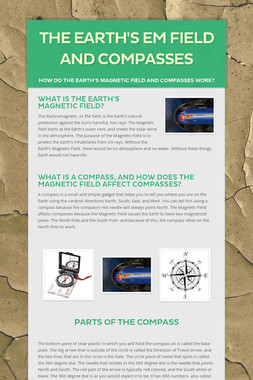 The Earth's EM Field and Compasses