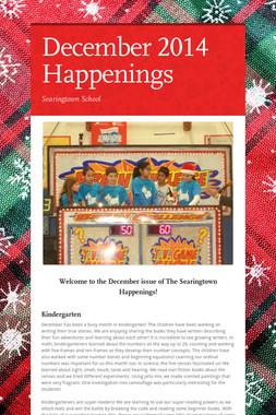December 2014 Happenings