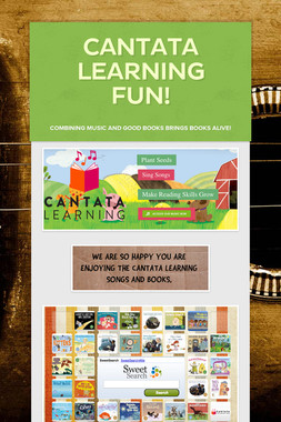 Cantata Learning Fun!