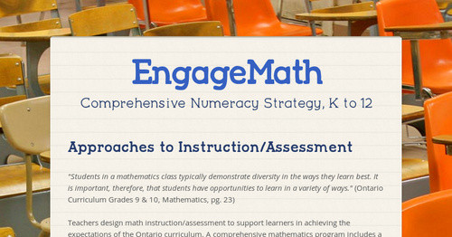 EngageMath | Smore Newsletters