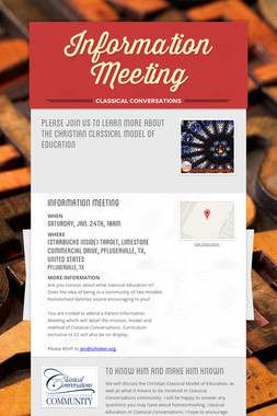 Information Meeting
