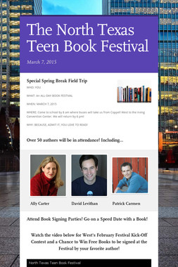 The North Texas Teen Book Festival