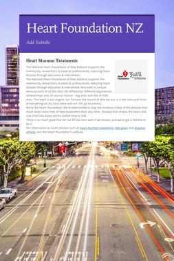 Heart Foundation NZ