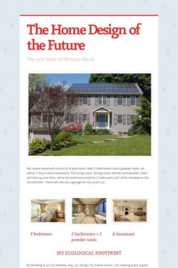 The Home Design of the Future