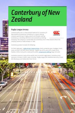 Canterbury of New Zealand