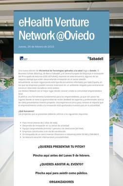 eHealth Venture Network @Oviedo