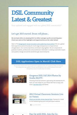 DSIL Community Latest & Greatest