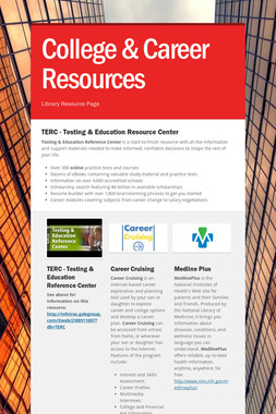 College & Career Resources