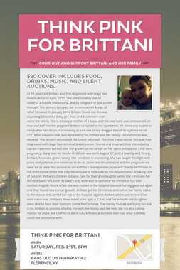 Think Pink for Brittani