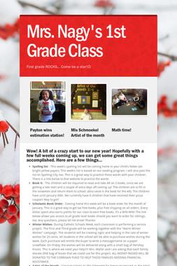 Mrs. Nagy's 1st Grade Class