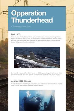 Opperation Thunderhead