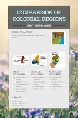 Comparison of Colonial Regions