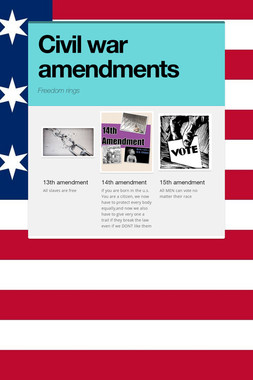 Civil war amendments