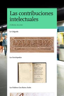 Las contribuciones intelectuales