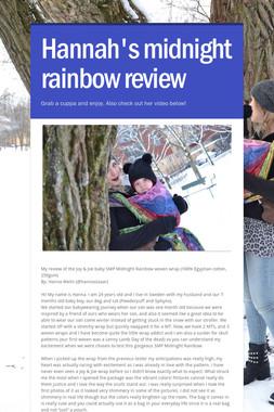 Hannah's midnight rainbow review