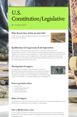 U.S. Constitution/Legislative