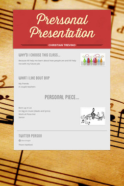 Prersonal Presentation