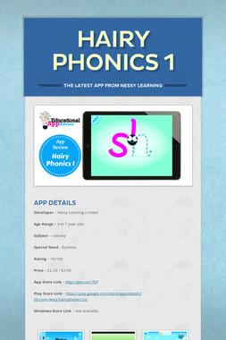 Hairy Phonics 1