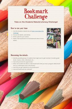 Bookmark Challenge