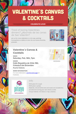 Valentine´s Canvas & Cocktails