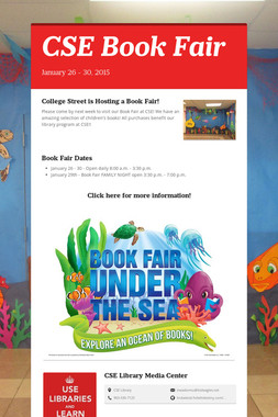 CSE Book Fair