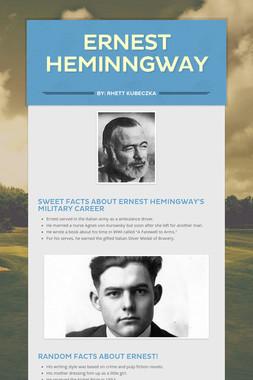 Ernest Heminngway