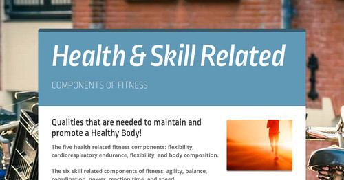 Health Skill Related Smore Newsletters For Education