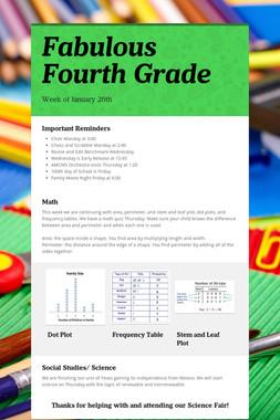 Fabulous Fourth Grade