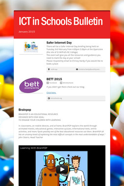ICT in Schools Bulletin